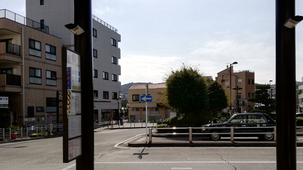 渋沢駅駅前バス停